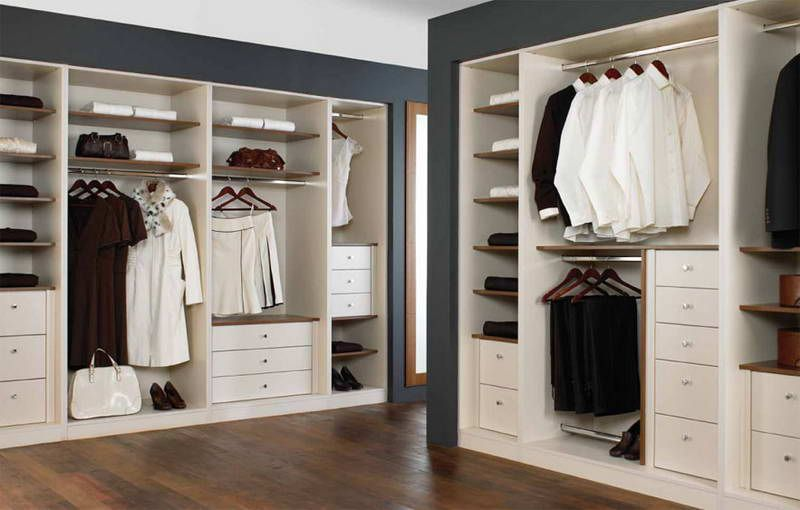 Closets, Cupboards and Storage in a Bedroom